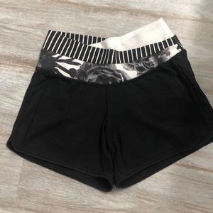 Lululemon shorts, size 2.